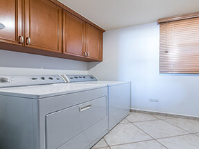 Clothes Washer & Dryer in condo