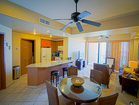 Puerto Peñasco condo rental kitchen