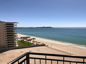 ocean front condo in rocky point mexico