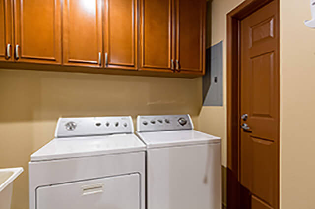 Rocky Point Resort laundry room included