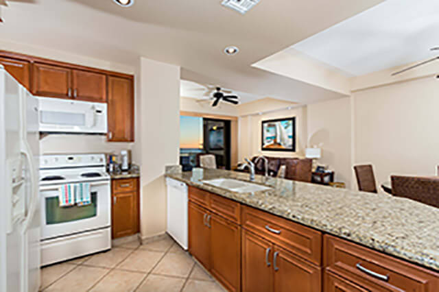 views from the kitchen Puerto Peñasco Diamante 906